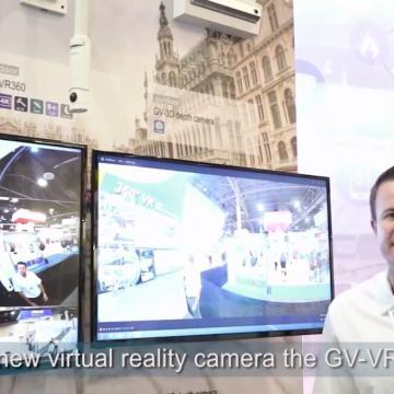 دوربین تحت شبکه واقعیت مجازی ژئوویژن