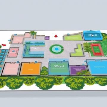 خصوصیات 3D E-Map VMS ژئوویژن